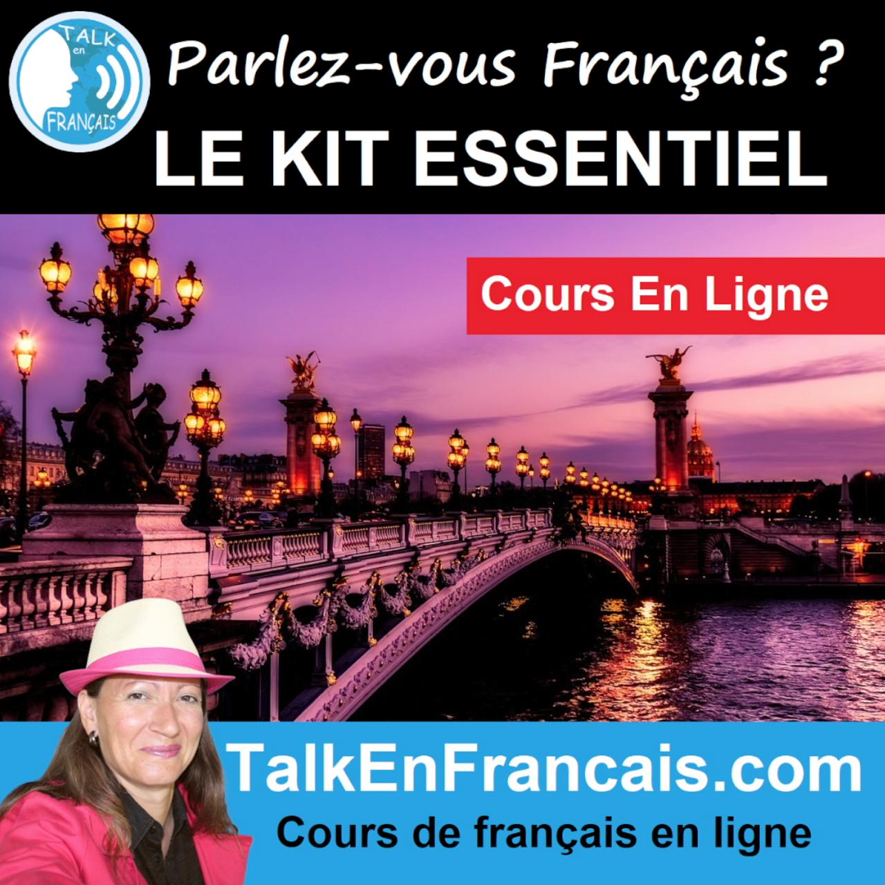 Cours en ligne Parlez-vous francais Kit Essentiel - Talk En Français